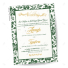 Seedpaper wedding invitations from India