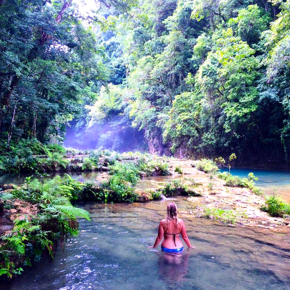 Beautiful Semuc Champey featuring Seven Continents sasha