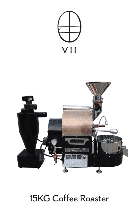 15kg Seven Districts coffee roaster