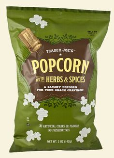 Trader Joe's Herb and Spices Popcorn