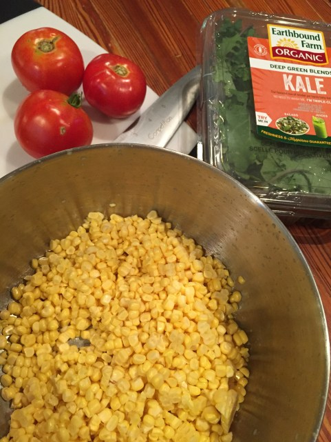 recipe, corn salad