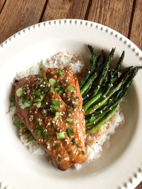 Sesame Ginger Salmon by Damn Delicious