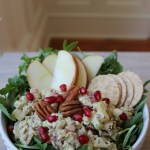 Pomegranate, Apple, Pecan Chicken Salad Recipe