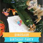 Dinosaur 4th Birthday Party