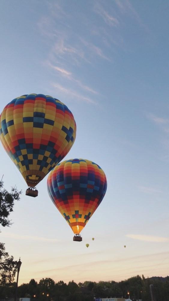 napa hot air balloon ride; our trip to napa valley and san francisco