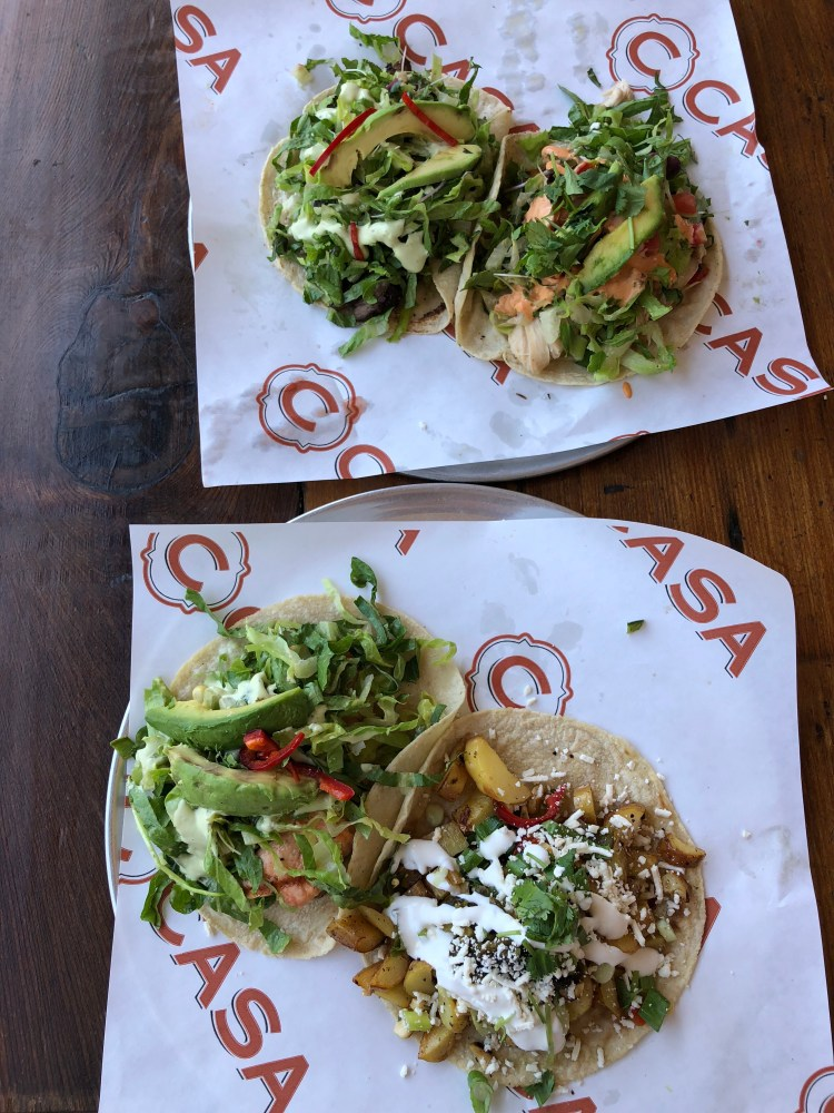 C Casa at Oxbow Market; our trip to napa valley and san francisco