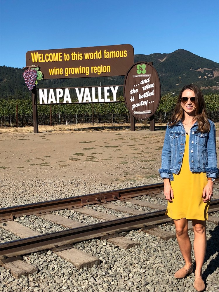 our trip to napa valley and san francisco