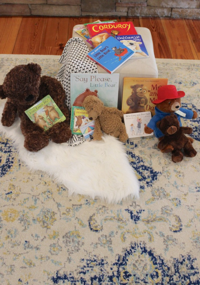 teddy bear first birthday party activity