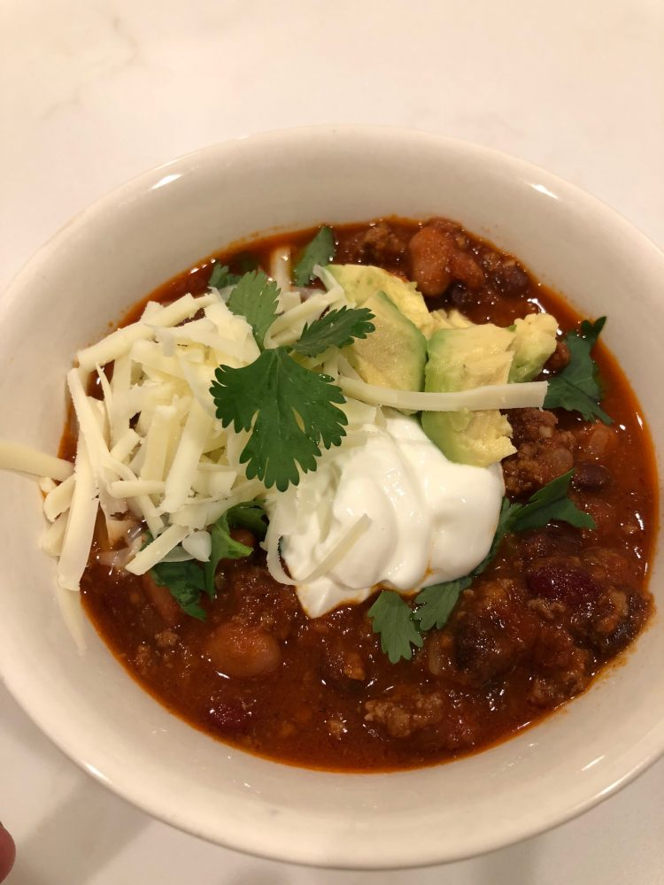 recipes I've made lately; 30 minute clean eating chili