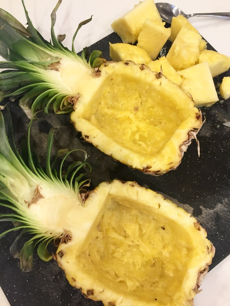 how to cut rockmelon for fruit platter
