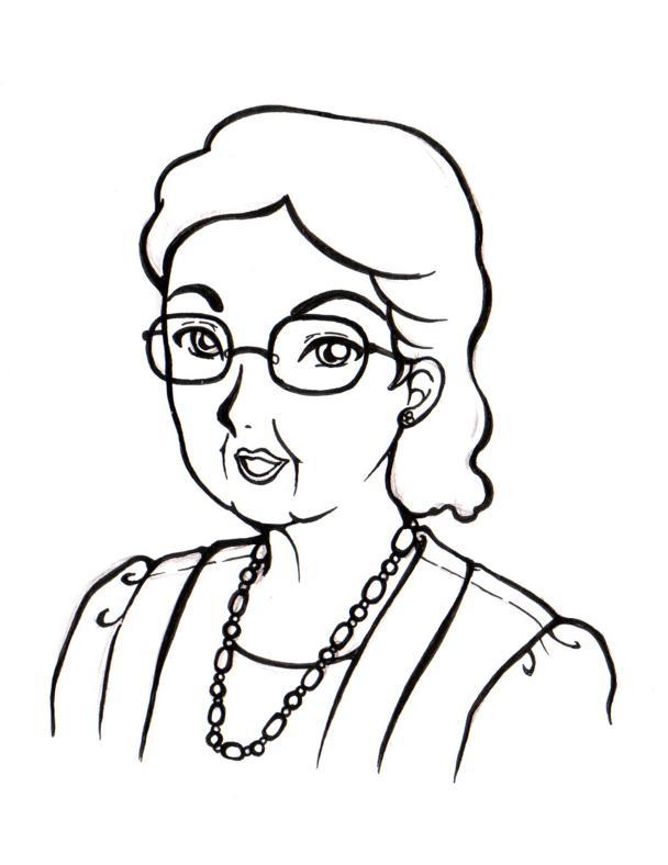 Indhira Gandhi Helen Keller Anne Frank Maria Montessori