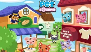 Download Pet City Facebook Game  Gif