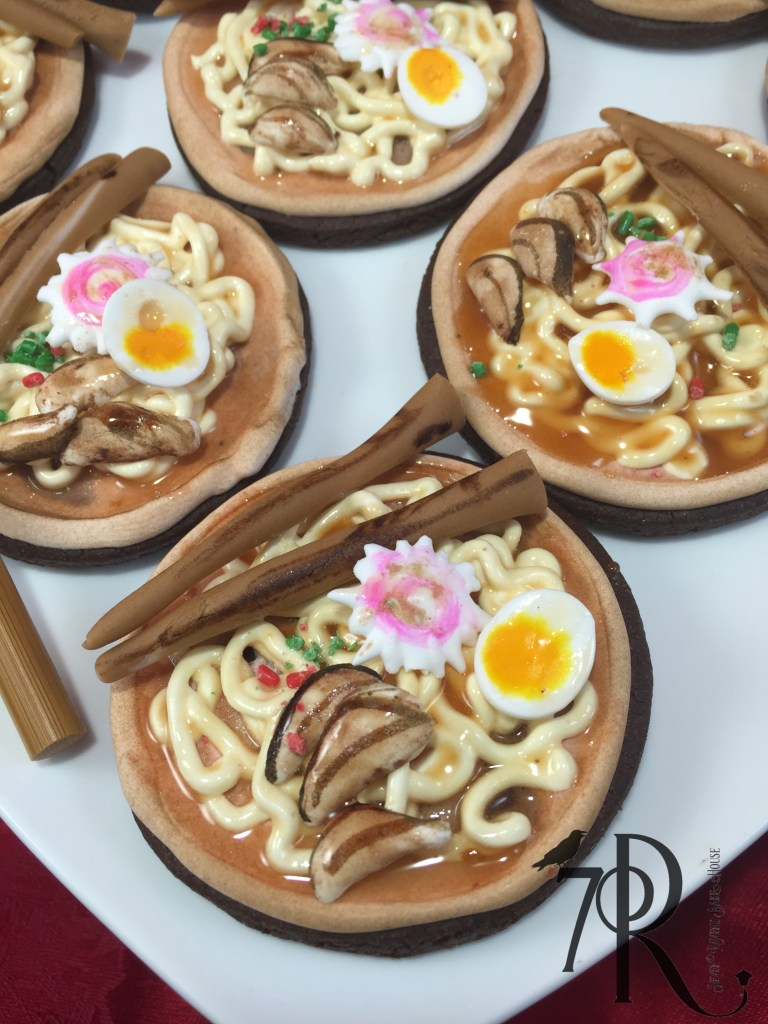 Raman Noodle Bowl Cookie