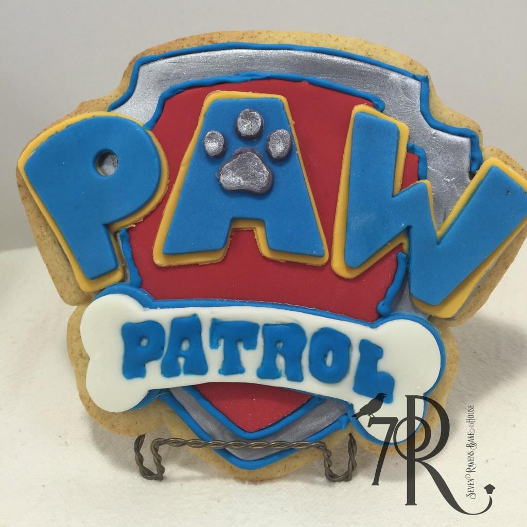 Paw Patrol Logo Cookie