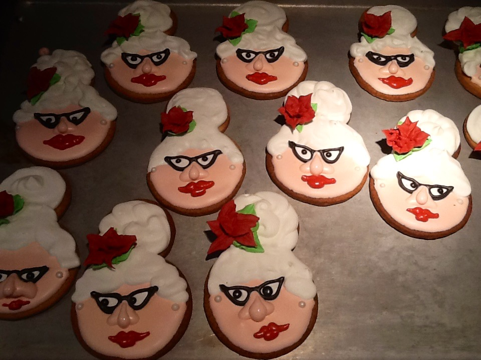 Mrs. Clause Christmas Cookies
