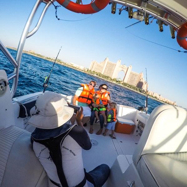 rent boat dubai