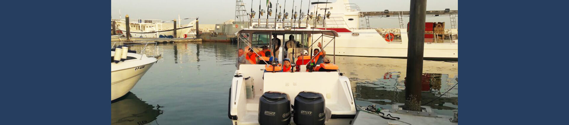 Rent Boat for Fishing in Dubai