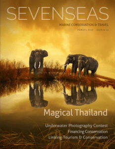 thailand march 2016 sevenseas media issue cover marine conservation and travel