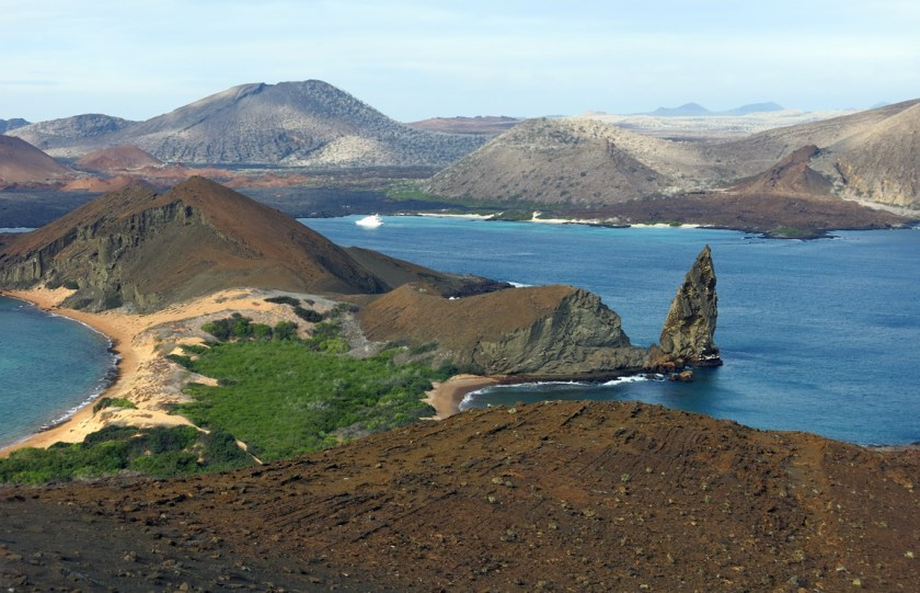 Iconic Galapagos landscape. Somewhere I have a shot from the same spot 22 years earlier.