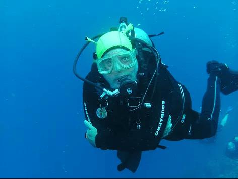 DavidBress scuba diving
