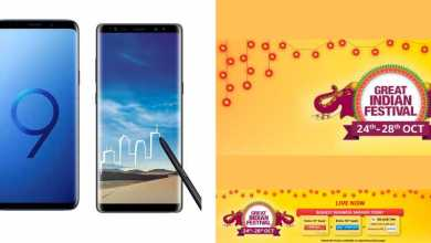 Photo of Amazon's 'Great Indian Festival' Brings New Offers On Samsung Phones & ₹45,000 Offer Price For Galaxy S9 Plus