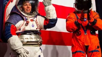 Photo of NASA created Next Generation Flexible Space Suit, astronauts of any height will be able to wear