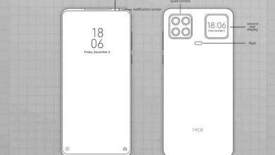 Photo of Xiaomi is making a smartphone with two displays, its second screen will fit next to the rear quad camera