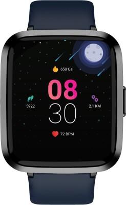 boAt Storm Smartwatch(Blue Strap, Regular)