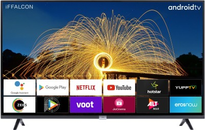 iFFALCON by TCL 100.3 cm (40 inch) Full HD LED Smart Android TV with Google assistant search and Dolby Audio(40F2A)