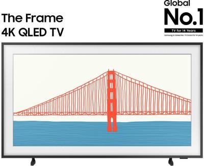 SAMSUNG The Frame 2021 Series 138 cm (55 inch) QLED Ultra HD (4K) Smart TV(QA55LS03AAKLXL)
