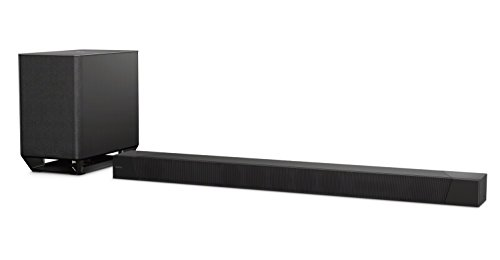 Sony HT-ST5000 7.1.2ch Dolby Atmos Soundbar with Wireless Subwoofer and Surround Sound (Dolby Atmos, Hi Res Audio, 4K HDR, Chromecast, NFC, Bluetooth)