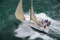 Class 40 Concise during the 2010 Sevenstar Round Britain and Ireland Race. Photo: RORC/Rick Tomlinson