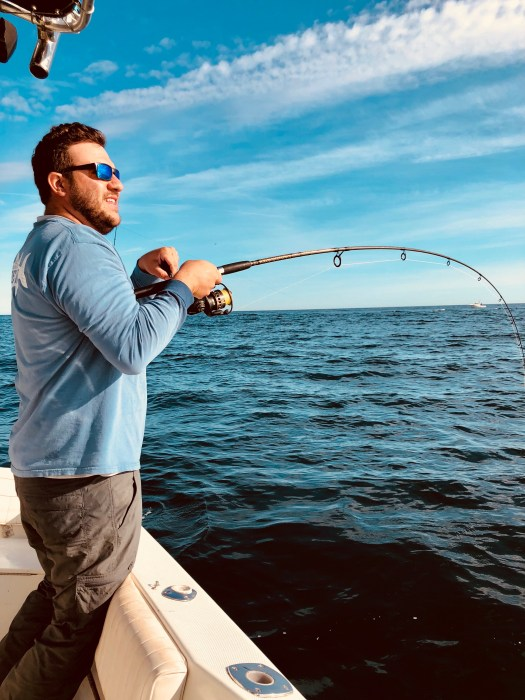 Gear and Tactics: How to catch a striper from the boat