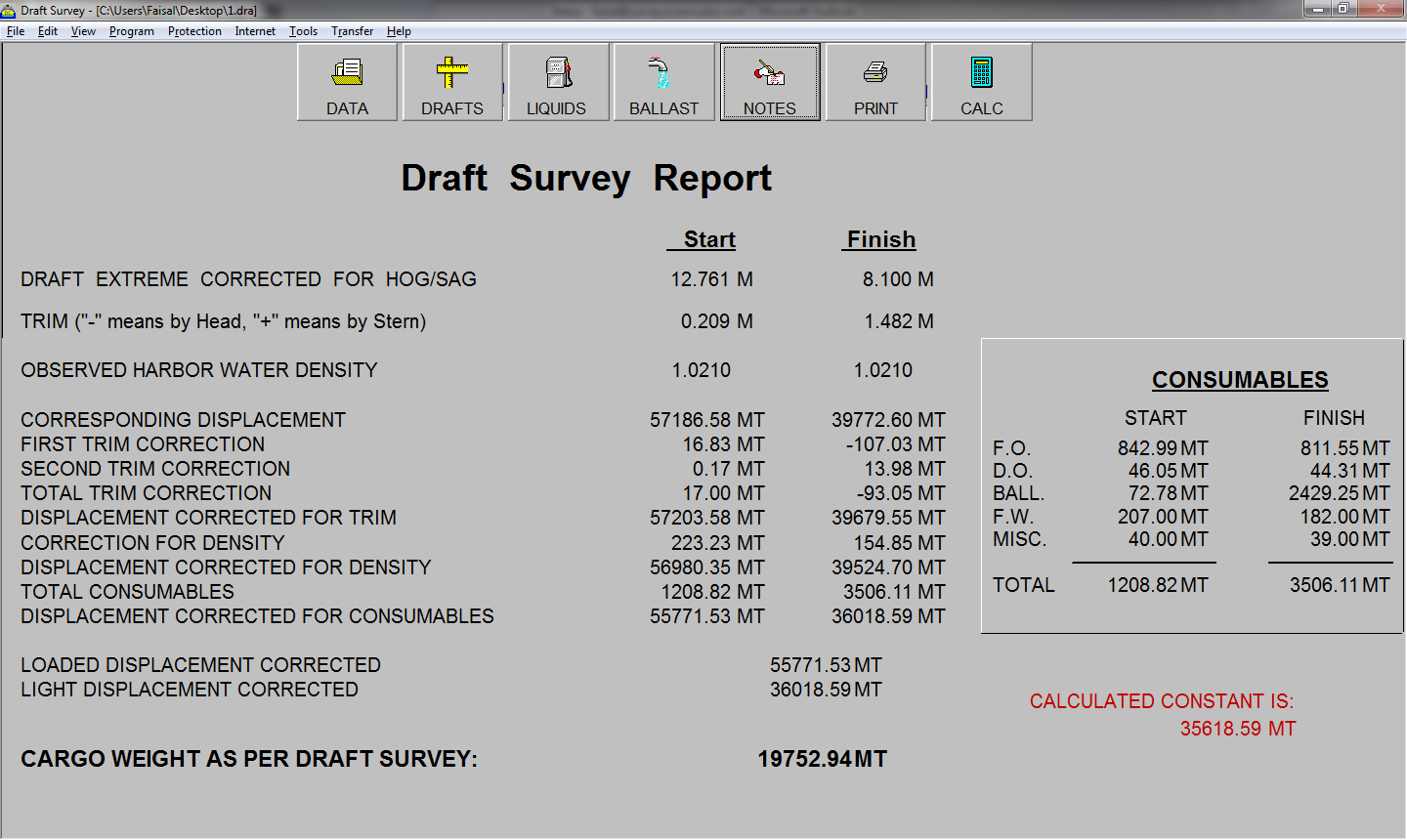 automatically complete surveys draft survey software review marine surveyor information 6634
