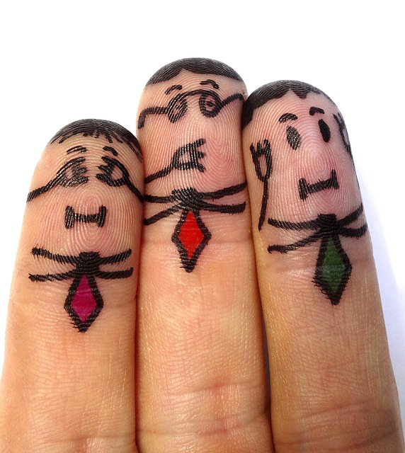 finger-man