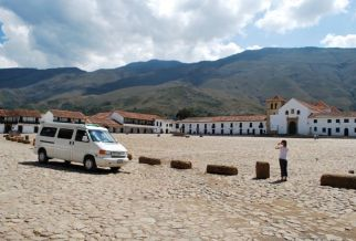 Leaving Villa de Leyva