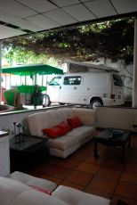 'Camping' at a house in Espinal