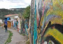 Street art, Quito