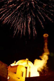 Fireworks, Monasterio de Santa Catalina, Arequipa, Peru