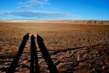 Three amigos, Atacama, Chile