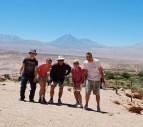 Family hike at Pukará de Quitor, Atacama, Chile