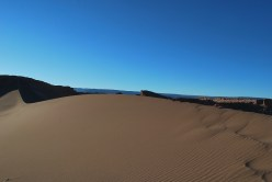 Sand dune, Valley of the Moon, Atacama, Chile