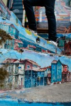 Painted stairs, Valparaiso