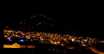 Cerro Rico by night, Potosi