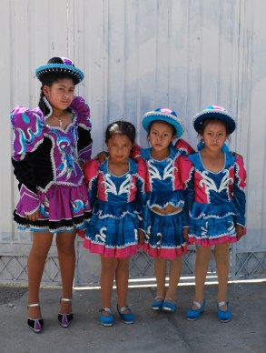 Each dance group had different outfits.