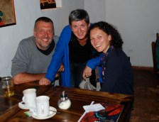 Drinks with Jess in Cuenca, Ecuador