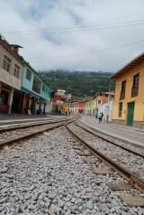 Colourful railway town of Alausí, Ecuador