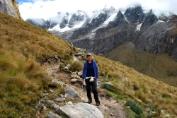 Santa Cruz trek, Cordillera Blanca, Peru