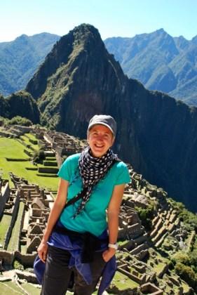 Paula, Machu Picchu, Peru