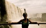 Paula at Iguazu Falls (Brazil)